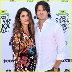 Nikki Reed & Ian Somerhalder Step Out at XQ: The Super School Project After Welcoming First Child