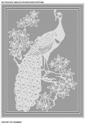 filet+crochet+patterns+free   Free Filet Crochet Patterns – Filet Crochet Charts