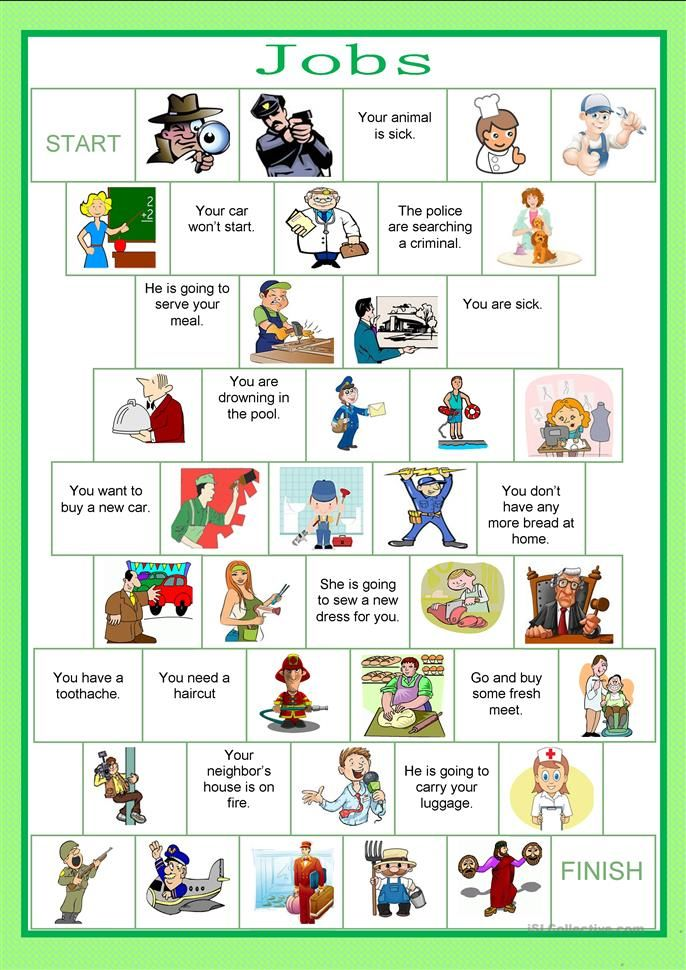 Jobs And Occupations Interactive And Downloadable Worksheet You Can Do The Exe English Worksheets For Kids English Lessons For Kids English Teaching Materials