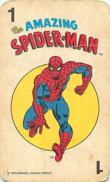 Marvel Comics Superheroes Card Game | Spider-Man