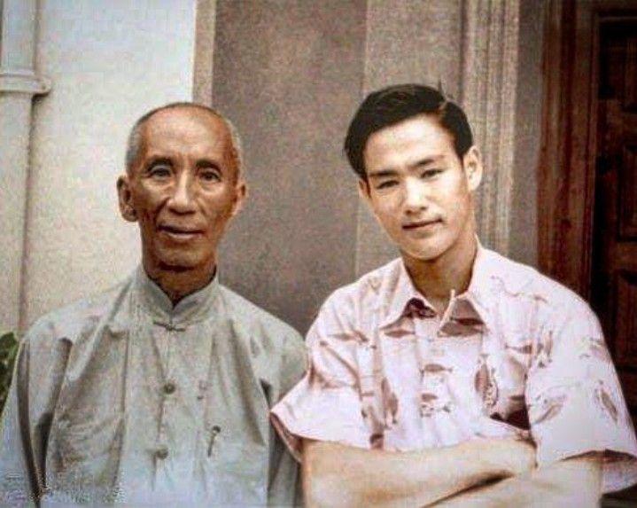 Yip Man Y Bruce Lee Personajes Históricos Wing Chun Bruce Lee