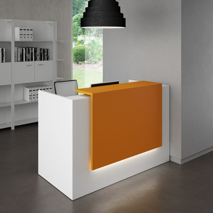 Modern Office Furniture Reception Desk Cool Design Inspiration