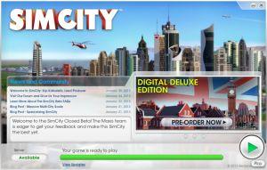 test de sim city