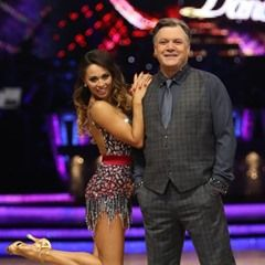 Ed Balls and Katya Jones pose for the 2017 Strictly Come Dancing Tour photo call