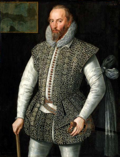 International Portrait Gallery: Retrato de Sir Walter Raleigh