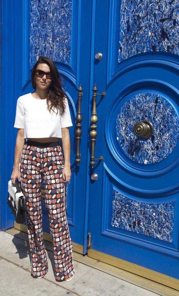 Mel Fronckowiak on blog Sweet Ray of Style wearing Kira Plastinina