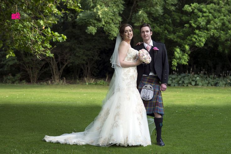 Timeless Ivory Gold Wedding With Scottish Traditions In: Best 25+ Tartan Wedding Dress Ideas On Pinterest