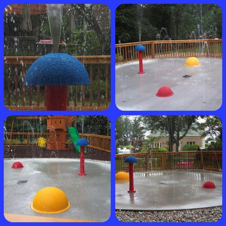 8 best My Splash Pad DIY residential backyard splash pad ...