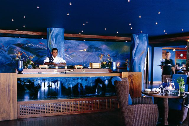 #Dining : #Restaurants : Blue Lagoon #Cuisine #Polynesian, #Sushi #Bar