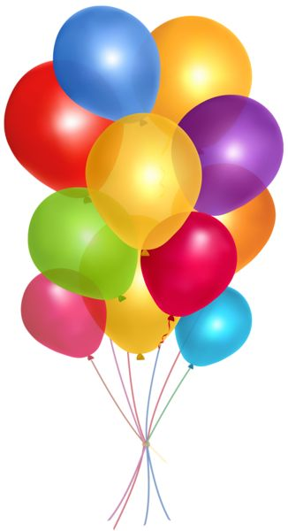 Transparent_ Multicolor_Balloons_PNG_Clipart_Picture.png (326×600)