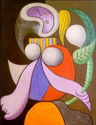 Pablo Picasso Woman with a flower 1932 oil on canvas 81 x 56cms