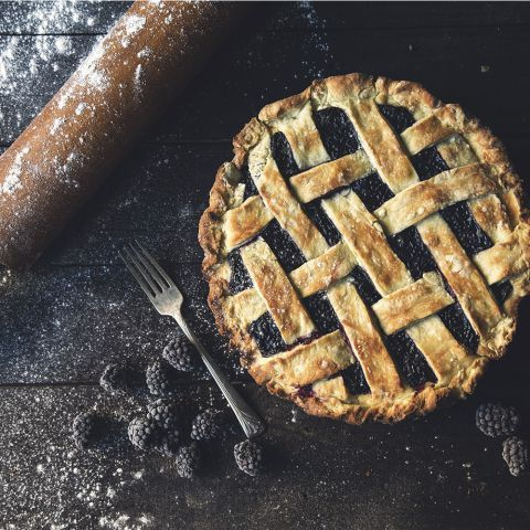 This Table Recipes - Blackberry Pie