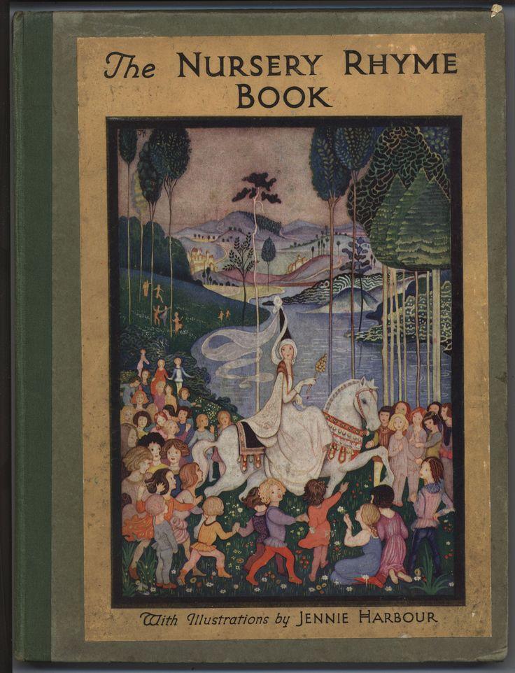 Nursery Book Cover Design : Best artist jennie harbour images on pinterest