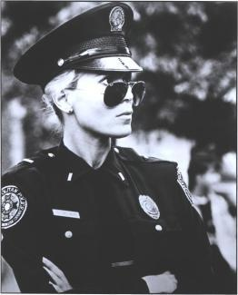 Leslie Easterbrook as Debbie Callahan in Police Academy movies