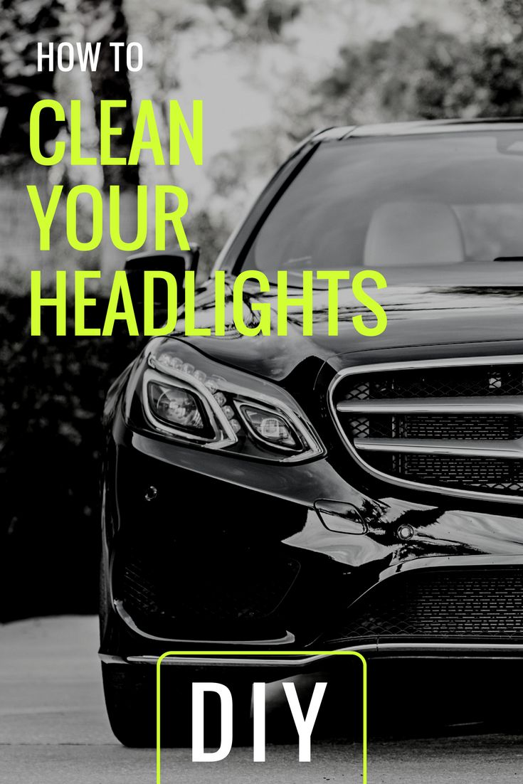 Diy easy headlight cleaning solutions how to clean