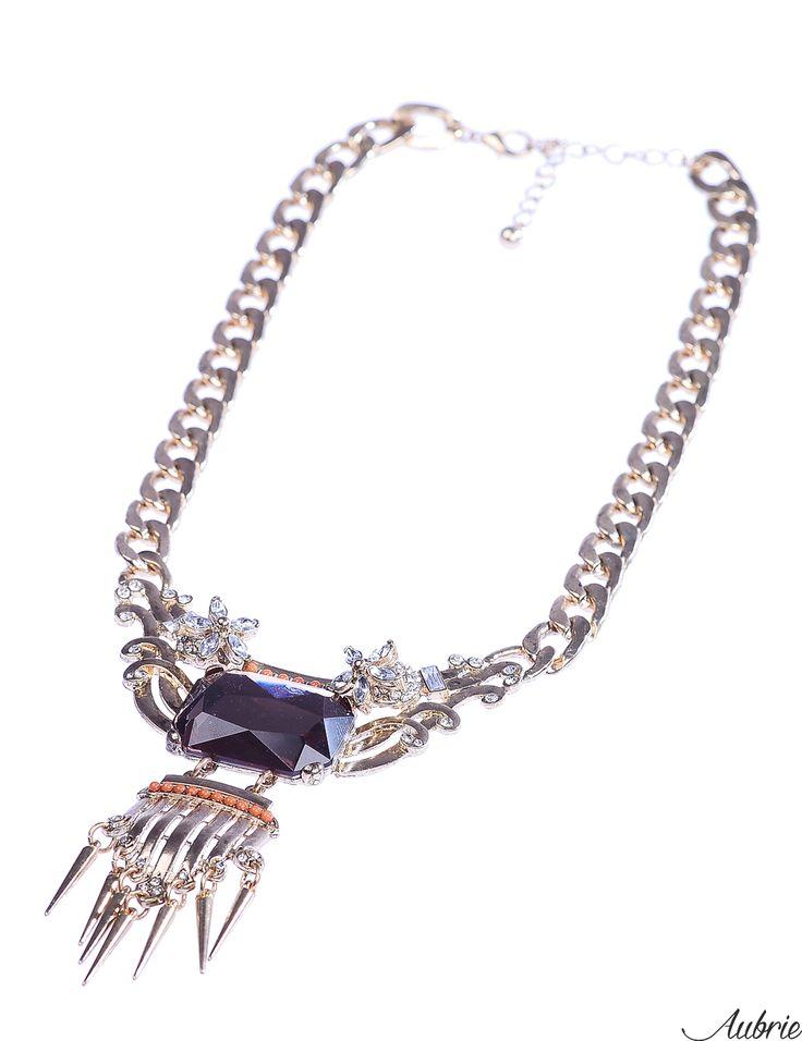 #aubrie #aubriepl #aubrie_necklaces #necklaces #necklace #jewelery #accessories #collin #gold #shine #violet