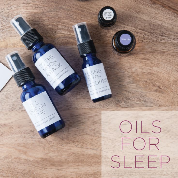 Some of my favorite Essential Oils for better rest are: Orange (yes! happy sleep = good sleep)Juniper Berry (supports sweet dreams and seems to help keep the ba