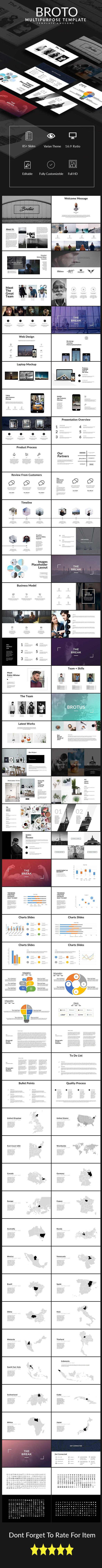Brotus Multipurpose PowerPoint Template