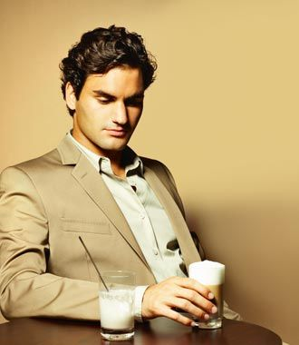 Watch this man (Roger Federer) play a match before he retires. If he wants to have coffee afterward, I won't complain :)