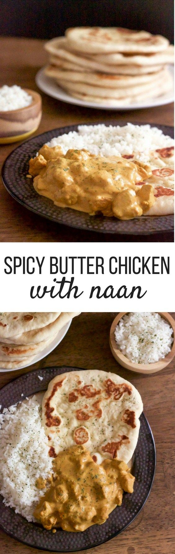 Creamy Butter Chicken - No need to simmer this curry for hours, this recipe is ready in less than 40 minutes! | wanderzestblog.com