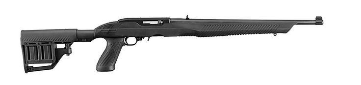 Ruger 10/22 Rifle TacStar Adaptive Tactical Blued