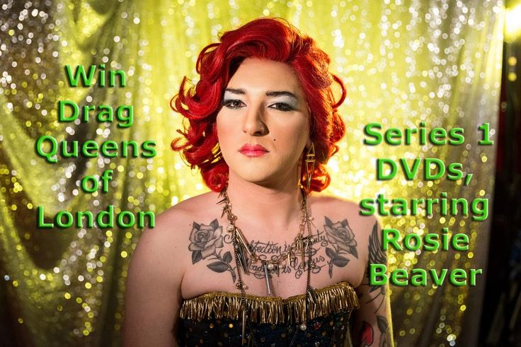 WIN 1 of 2, Series 1 Drag Queens of London, 2 disc DVDs from Gay Essential & @RevelationFilms http://gay-themed-films.com/drag-queens-of-london/
