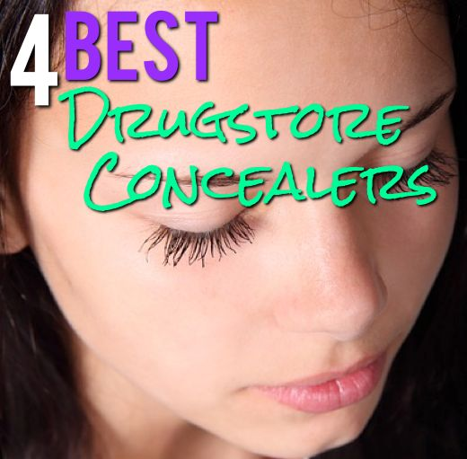 4 Best Drugstore Concealers- I hate buying stuff that doesn't work- these seem like good products
