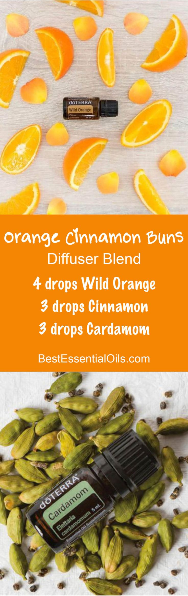 Orange Cinnamon Buns doTERRA Diffuser Blend