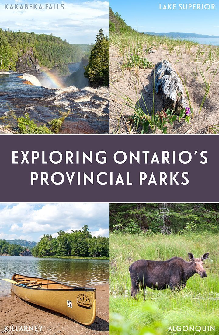 A journey through the heart of Canada by RV, visiting four of Ontario's beautiful Provincial Parks – Kakabeka Falls, Lake Superior, Killarney and Algonquin.