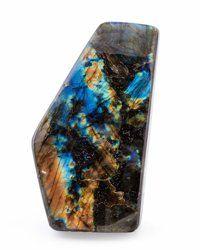 Labradorite Free-Form Madagascar 2.76 x 1.65 x 6.30 inches (7.00 x 4.20 x 16.00 cm)