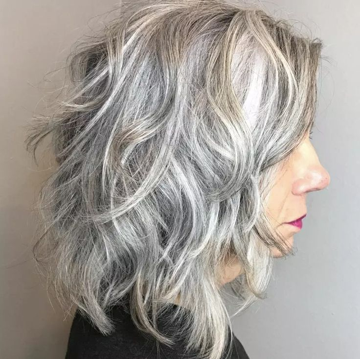 39+ Medium length hairstyles with bangs for over 60 trends