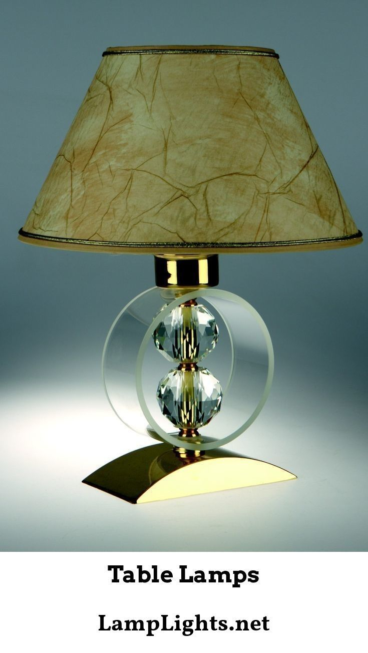 Table Lamps May Be Placed Where They Are Needed