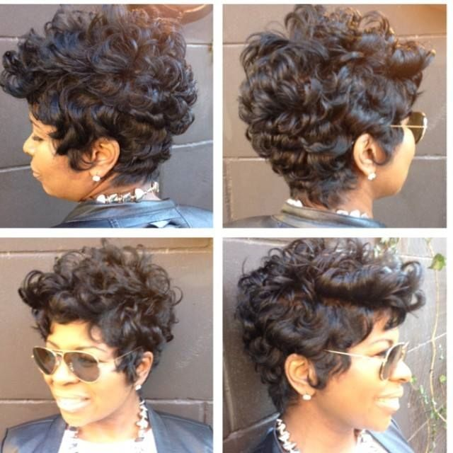 Best 25 short curly weave hairstyles ideas on pinterest short instagram post by najah aziz najahliketheriver short hair stylesshort cuts black pmusecretfo Image collections