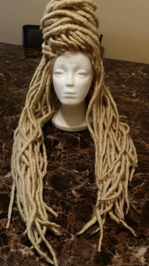 how to make a dreadlock wig