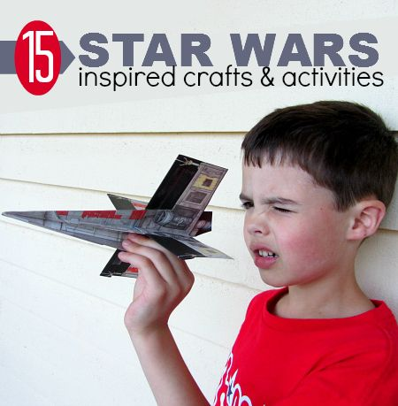 Star Wars Crafts ~ 15 Star Wars inspired Crafts and Activities