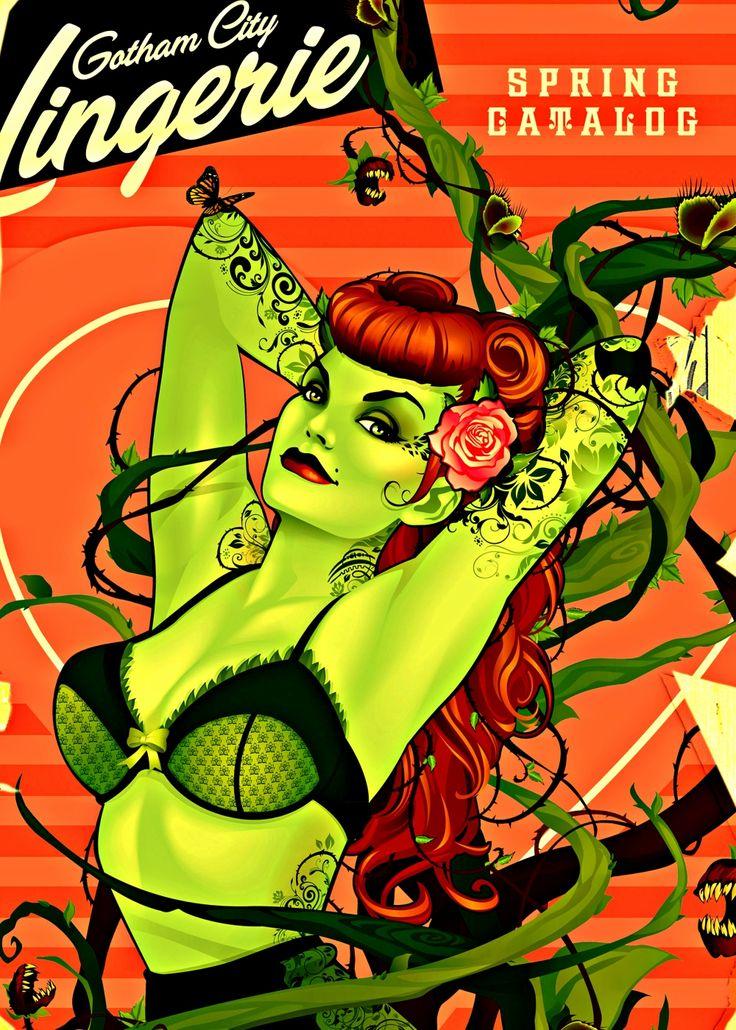 DC Bombshells Presents:Poison Ivy