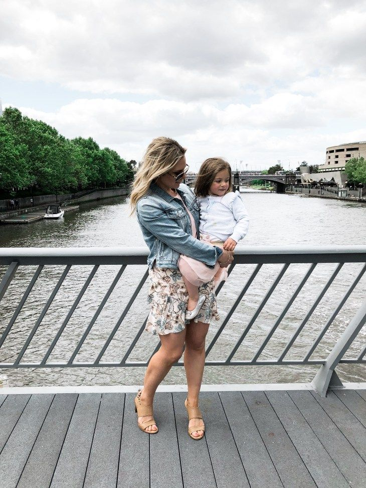 mother-daughter-melbourne-with-kids-witchery-style-denim-jacket