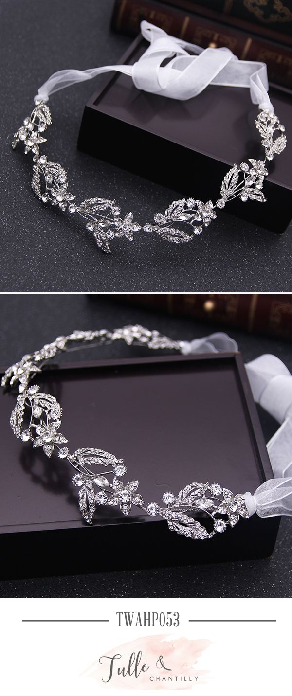 Pretty Rhinestone Wedding Headband TWAHP053