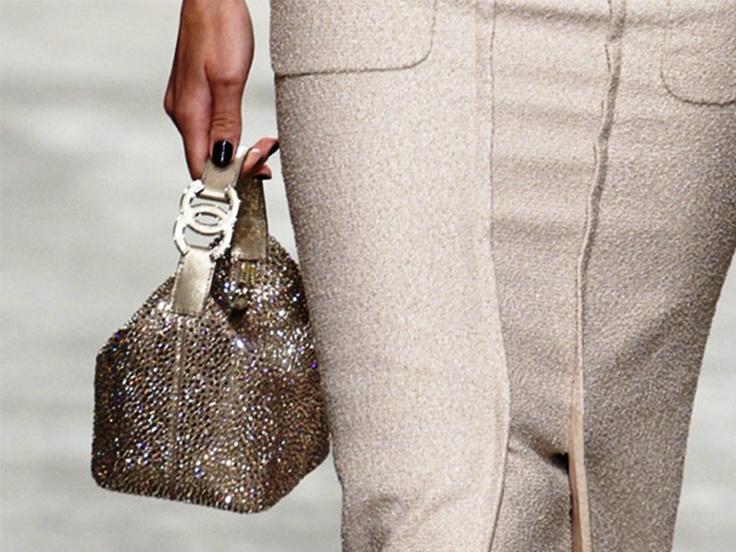 Chanel Crystal Mini Tote bag