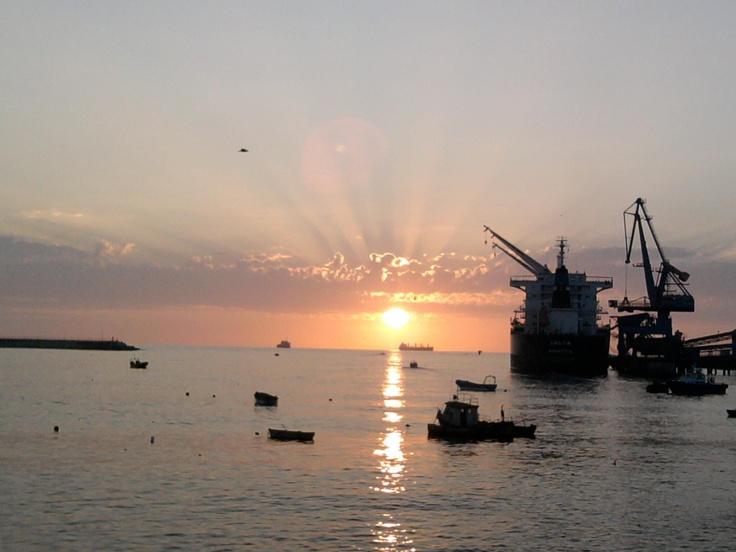 Camila nos envió su linda imagen del Puerto de San Antonio.