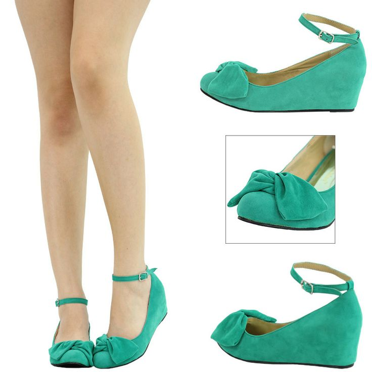 Small Wedge Wedding Shoes