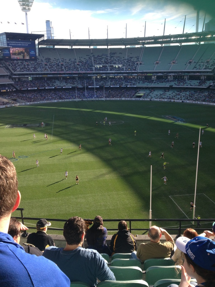 3.	MCG (MELBOURNE CRICKET GROUND)- Wander beneath the huge ground that houses some of the best sporting events in Australia.