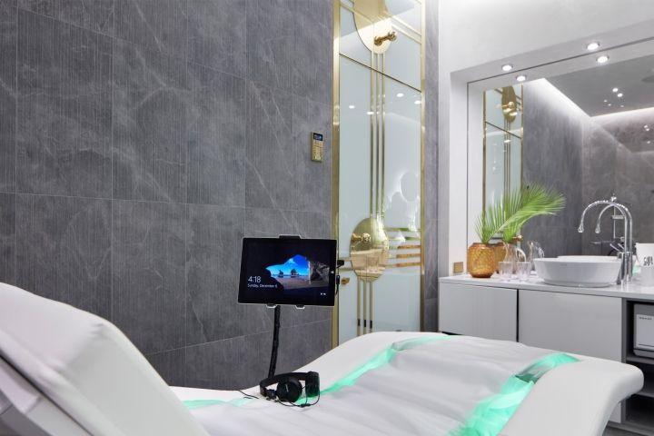 Дизайн интерьера спа-салона: планшет для каждого посетителя