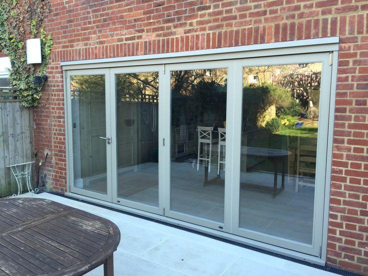 Ral 7032 (Pebble grey) for aluminium bi fold doors