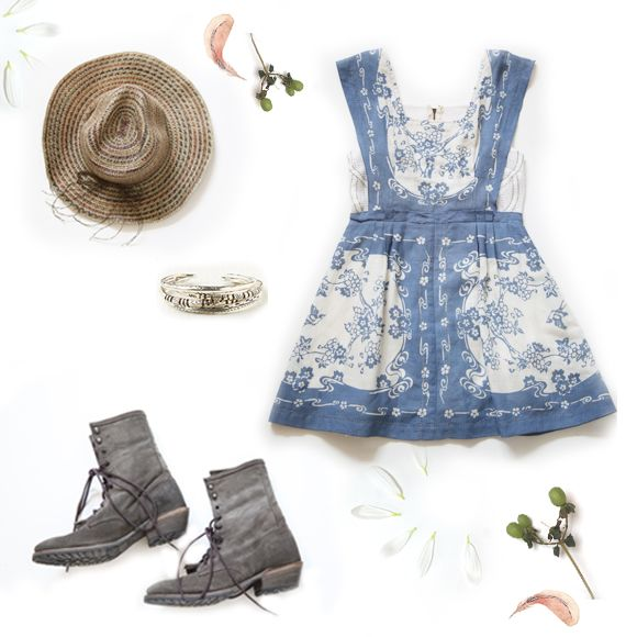 An Inspired Farmer's Daughter Look: The Dress