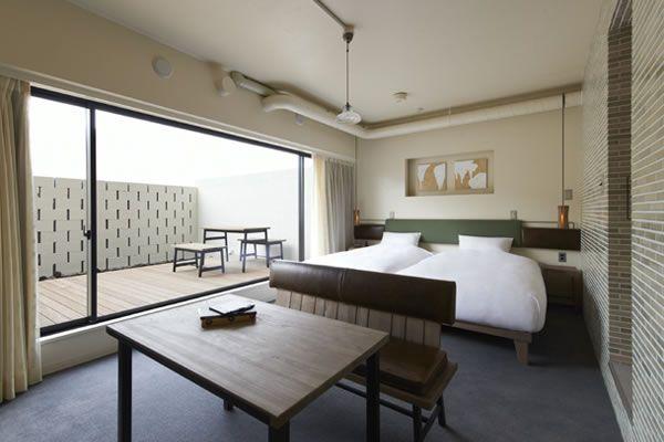 客室紹介 | HOTEL ANTEROOM KYOTO | ホテル アンテルーム 京都
