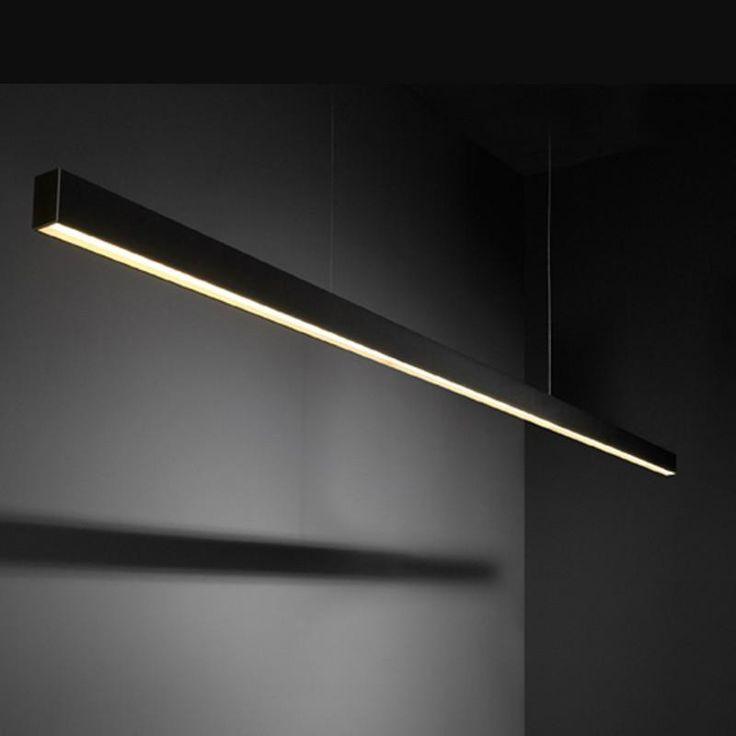 Modular SL mini naked surface mounted TL5 SLS down GI (1207mm) Plafondlamp zwart by Modular in Werkplek Opbouw (TL/PL/LED) - Plafondlampen - Binnenverlichting