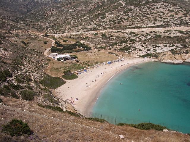 ΔΟΝΟΥΣΑ - DONOUSSA Kendros beach, Donoussa