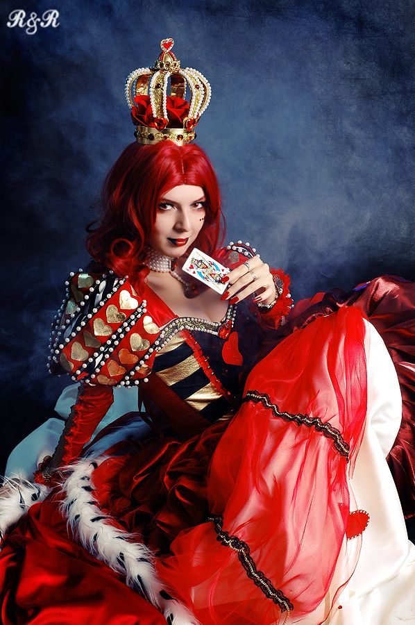 Snap Steampunk Queen Of Hearts Cosplay By Ashesonfire On Deviantart