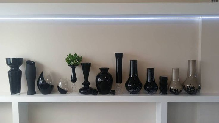 Kolekcja czarna - handmade vases